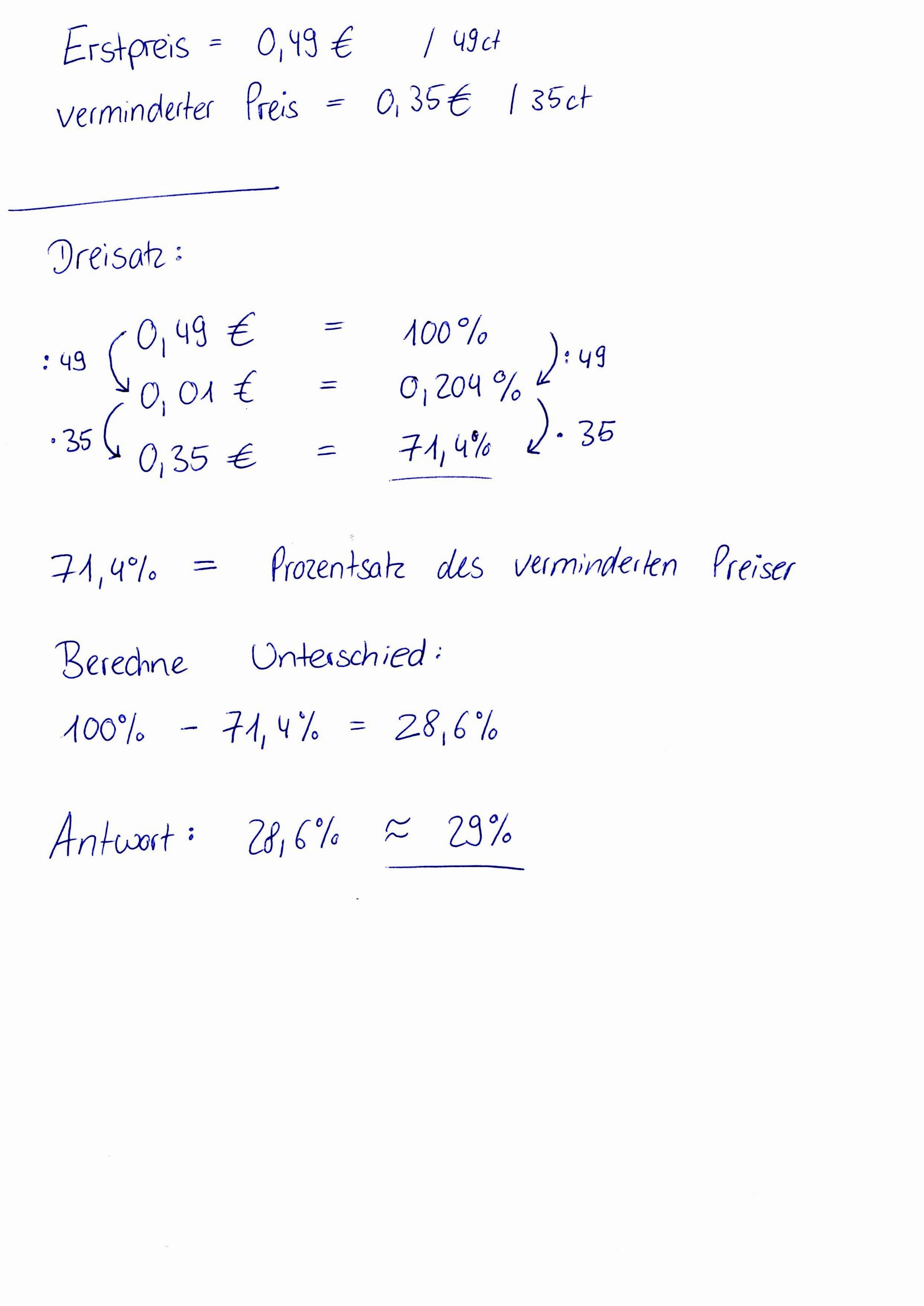 prozentrechnung erklärung gesucht :d (mathe, mathematik, prozent)