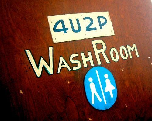 Was Steht An Englischen Toiletten Sprache Englisch Kultur