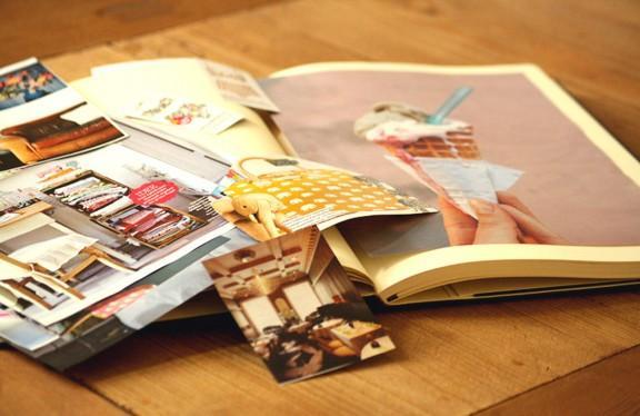 scrap book - (Kunst, zeichnen)