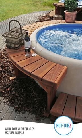 Mkt Hot-Tubz die Welness-Oase zum mieten - (Wellness, Pool, Privaträume mieten)