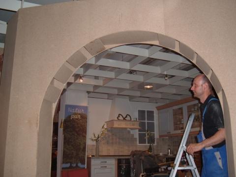 wandverkleidung mit stein in eigenregie selbermachen anleitung gesucht wohnen bauen selber. Black Bedroom Furniture Sets. Home Design Ideas