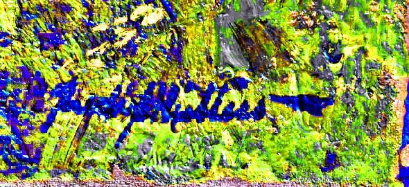 Bearbeitete Signatur - (Kunst, Künstler, Gemälde)