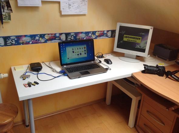 Mein Arbeitsbereich  - (PC, Grafikkarte, Monitor)
