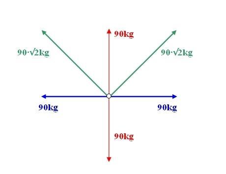 Seilkräfte - (Mathematik, Mechanik, Statik)
