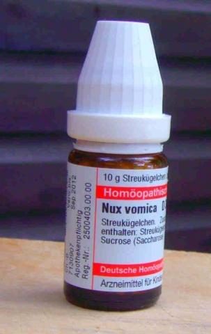 Nux vom. D12 Globuli - (Gesundheit, Medizin, Kater)