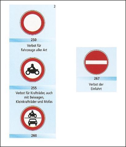 Verkehrszeichen - (Verkehr, Punkte, Verbot)
