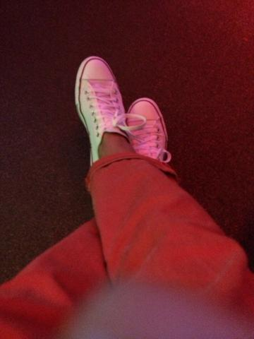 Weiße chucks - (Mädchen, Mode, Schuhe)