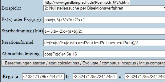 Bisektion - (Mathe, Mathematik, Gleichungen)