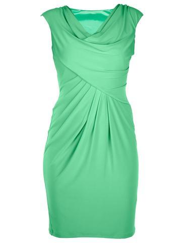 grünes Cocktailkleid - (Freizeit, Mode, Kleidung)