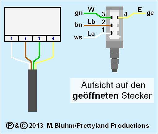 Telefonstecker-Belegung TAE - AS4 (Quelle: GF/electrician) - (Telefon, Elektrotechnik)