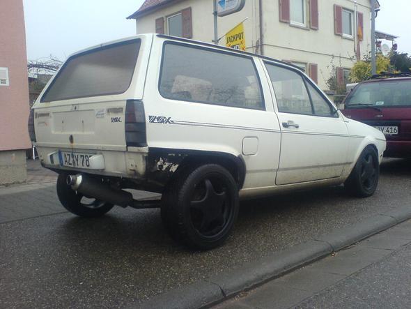 VA SEAT - HA Borbet - (Auto, Felgen)