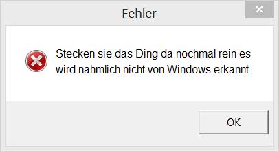 Fehler - (Maus, USB)