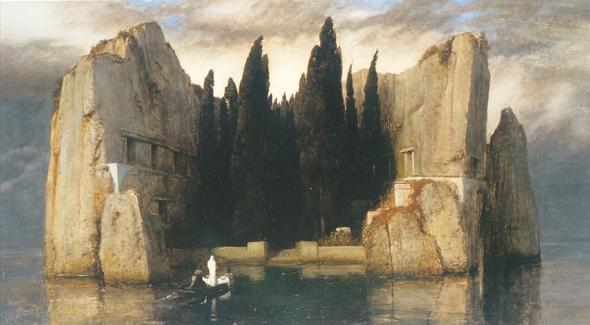 Die Toteninsel - (Leben, Kunst, Tod)