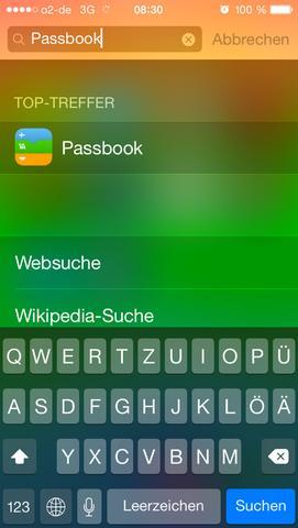 Passbook - (Handy, iPhone, Apple)