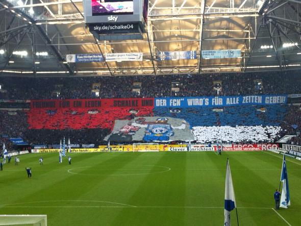 Wie man hier sieht ! - (Fußball, Bundesliga, Fan)
