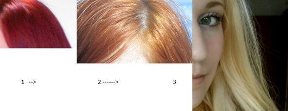 von rot rnach blond - (Haare, Unfall, blond)