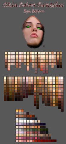 Mix Flesh Colored Paint