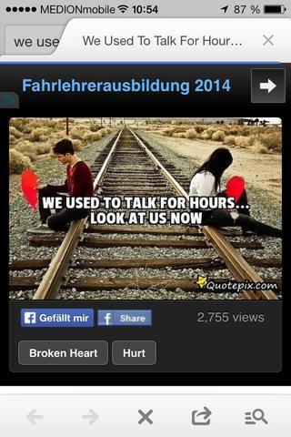 whats app status uebers vermissen alter freundschaft (zerbrochene