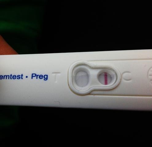 mein sehr leichter urintest - (Schwangerschaft, schwanger)