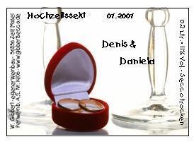 für unsere Hochzeitspaare - (Geschenk, Getränke, Geschenkideen)