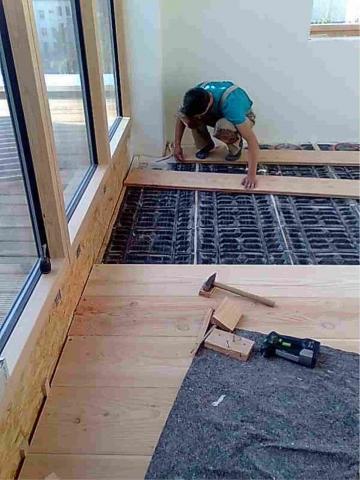 welcher boden ist am besten für eine fußbodenheizung geeignet, Wohnzimmer