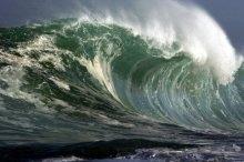 Riesenwelle - (Natur, Erde, Katastrophe)