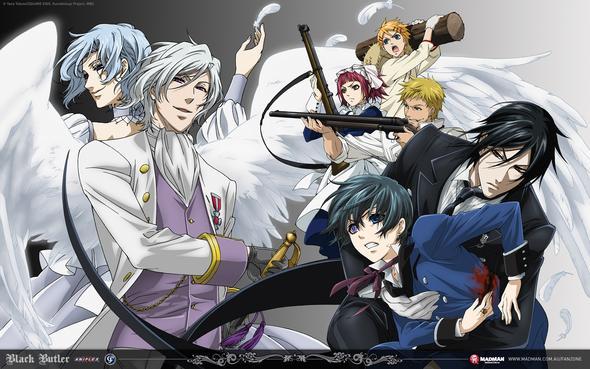 Black Butler - (Anime, Naruto, Fairy Tail)