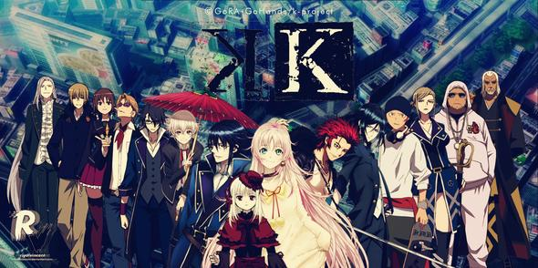 K-Project - (Anime, Naruto, Fairy Tail)