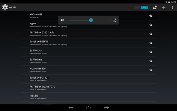 Screenshot Nexus 10 - (Internet, Handy, WLAN)