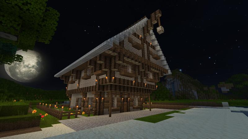 Minecraft ideen f r ein erstes haus - Minecraft haus ideen ...