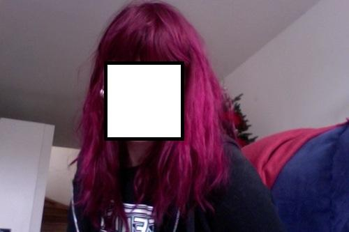 """Directions """"Rose Red"""" auf ungebleichtem Haar - (Haare, Farbe, Friseur)"""