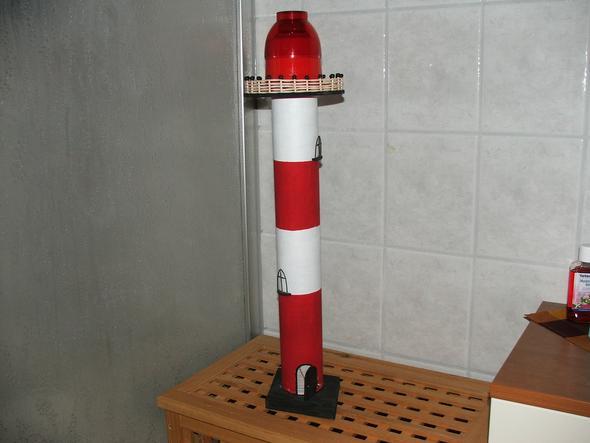 Leuchtturm minecraft schule basteln for Leuchtturm basteln