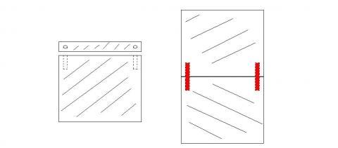 Platten mit Stiften - (Modellbau, Warhammer, tabletop)