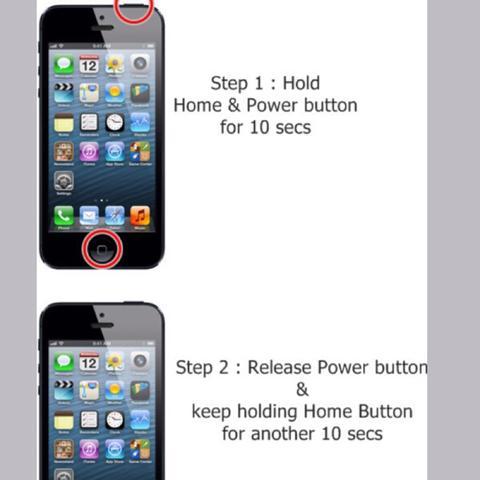 Hier eine Erklärung wie du in den Dfu Mode kommst  - (iPhone, Smartphone, iTunes)