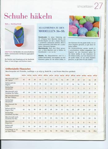 Hausschuhe Häkeln Und Filzen Anleitung Kostenlos