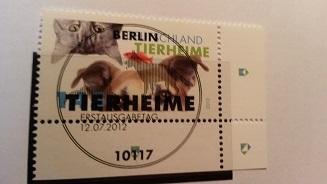 1,45 von 2012 - (Post, Briefmarken, Verfallen)