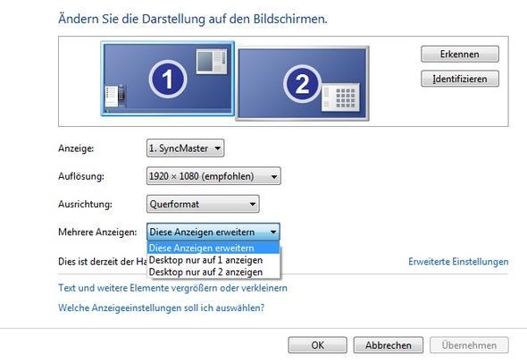 Einstellung - (Computer, Grafikkarte, Software)