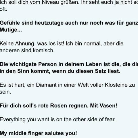 status sprüche kurz whatsapp