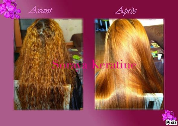 Brasilianische Keratin Glättung - (Haare, Keratin Behandlung)