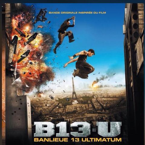 """Albumcover ,, Banlieure 13 Ultimatum (bande original du Film) """" - (Musik, Film, Rap)"""