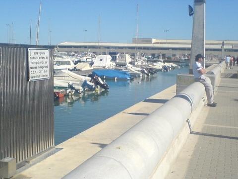 Dénia Port. - (Handy, Spanien)