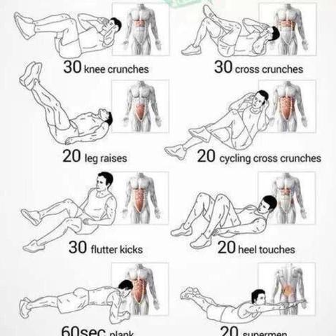 Das täglich machen  - (Körper, Sixpack, trainieren)