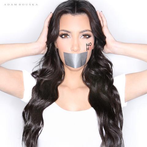 Kim Kardasian, Socialite für NOH8 - (Englisch, Werbung)