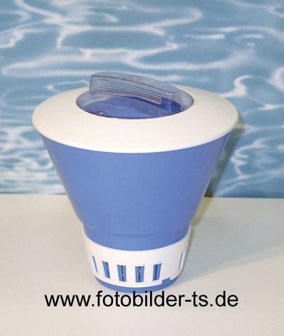 Chlorauflöser - Dosierschwimmer - (schwimmen, Hygiene, Schwimmbad)