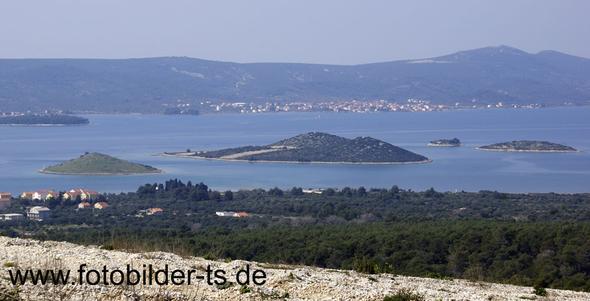 Blick auf Pasman von Filip i Jakov - (Urlaub, Kroatien)