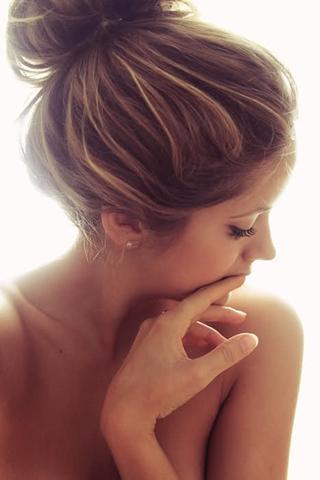 hier die strähnchen *_* - (Haare, Friseur, färben)