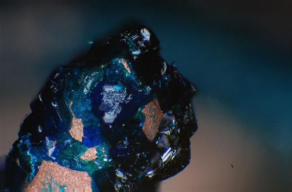 Kupferacetat - (Chemie, Versuch, Kupfer)