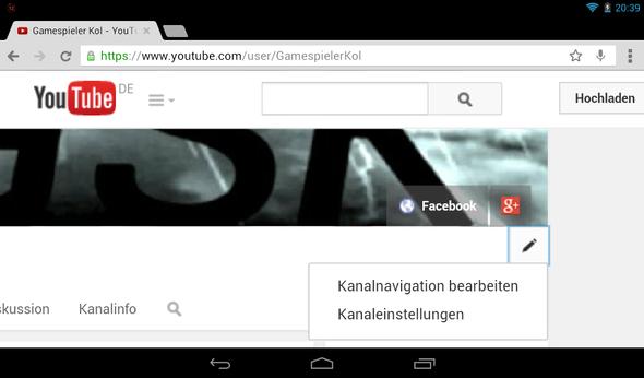 Bild nr 1 - (Youtube, Kanal)