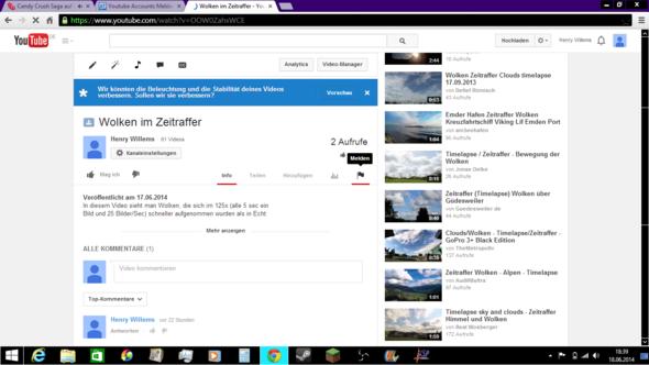 Youtube Account Melden