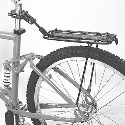 Mountainbike mit Gepäckträger - (Mode, Fahrrad)